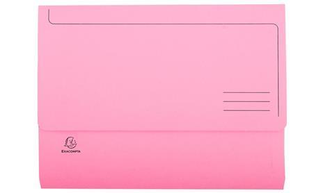 Exacompta 47978E cartella A4 Cartoncino Rosa