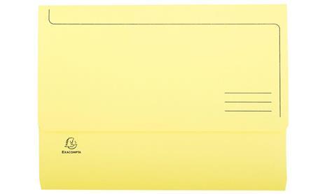 Exacompta 47979E cartella A4 Cartoncino Giallo