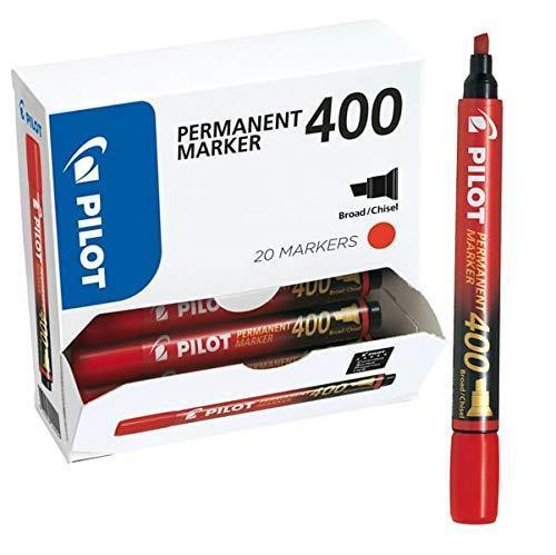 Bonus pack 15+5 marcatore permanente 400 rosso p.scalpello 4.5mm Pilot