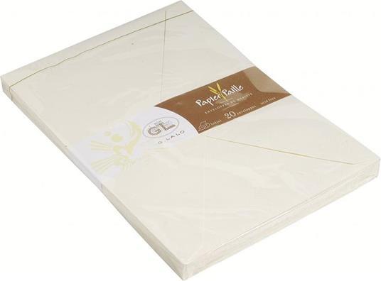 Busta C5 carta paglia G. Lalo . 20 pezzi