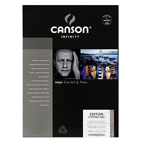 Canson 206211007 Photo Paper A3 25 29,7 x 42 cm (A3) Carta fotografica