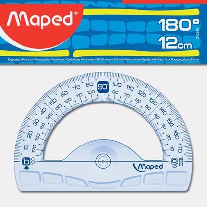 Maped 242180 goniometro Goniometro a 180° Plastica