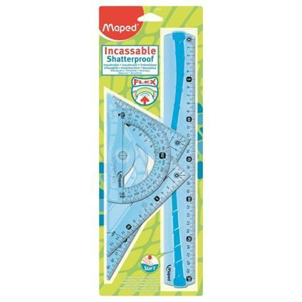 Maped Flex set di righelli 4 pezzo(i) Plastica