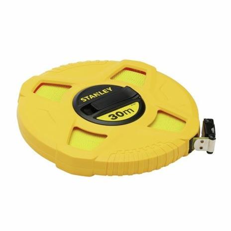 Stanley 0-34-297 rotella metrica 30 m ABS sintetico Giallo - 5