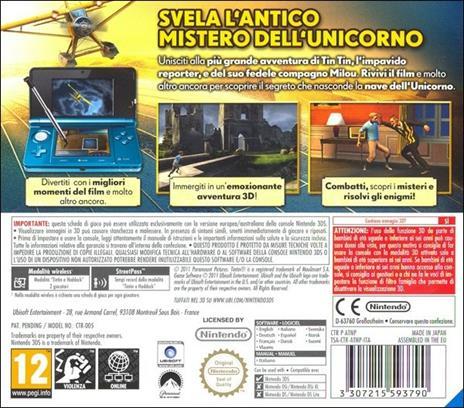 Le Avventure Di Tin Tin - 3DS - 2