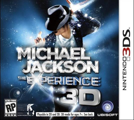 Michael Jackson The Experience - 3DS - 2