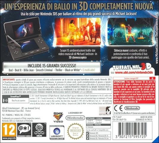 Michael Jackson The Experience - 3DS - 4