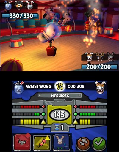 Rabbids Rumble - 3DS - 5