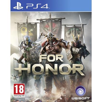 Ubisoft For Honor, PS4 videogioco PlayStation 4 Basic Francese