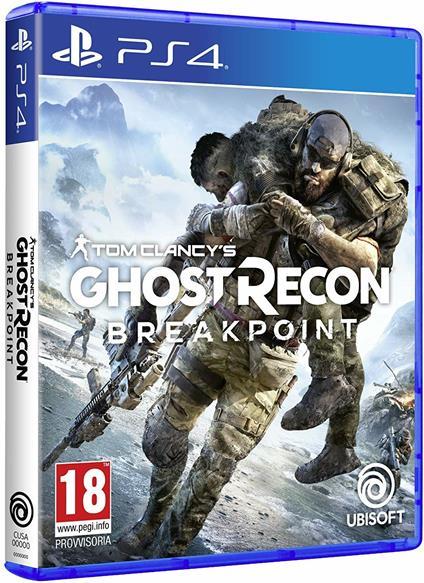 Tom Clancy's Ghost Recon Breakpoint EU (Multilingue Italiano incluso) - PS4