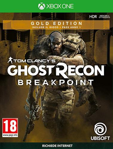 TomClancys Ghost Recon Breakpoint GoldEd - XONE