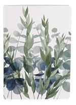 Taccuino Quintessence cucito 64 pagine 14, 8 x 21 cm a righe 90 g con copertina in carta plastificata con motivo casuale
