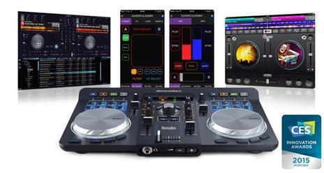 Mixer Hercules Dj Universal 2 Canali Controllo A 2 Banchi Curva Fader 1 - 10