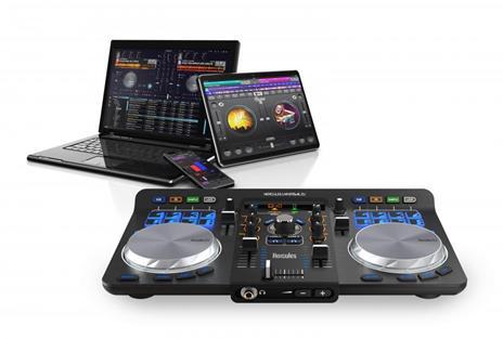 Mixer Hercules Dj Universal 2 Canali Controllo A 2 Banchi Curva Fader 1 - 18