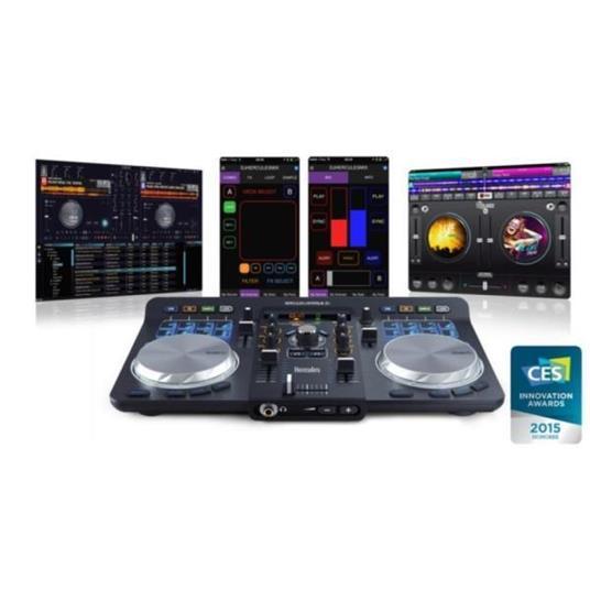 Mixer Hercules Dj Universal 2 Canali Controllo A 2 Banchi Curva Fader 1 - 2