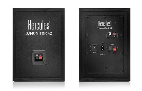 Hercules DJMonitor 42 40 W Nero Cablato - 2
