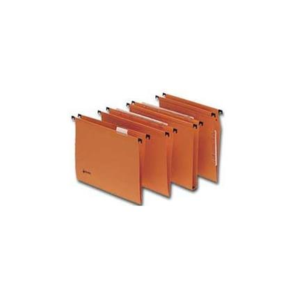 REXEL SIGNALETIC Cartella Sospesa 33/U-3 - Arancio - Confezione da 25 Pezzi - 210400