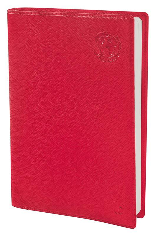 Agenda settimanale 2022, 13 mesi, Affari Quo Vadis Equology Rosso - con rubrica - 10 x 15 cm