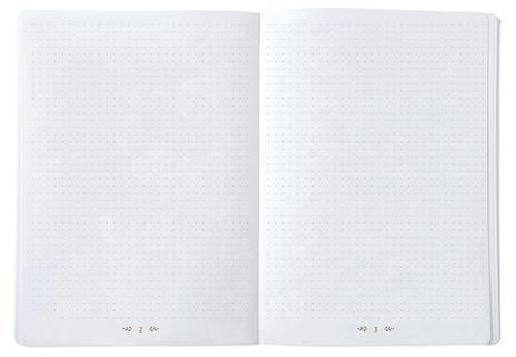 Taccuino dot Quo Vadis Life Journal Rosa corallo - 15x21 - 2