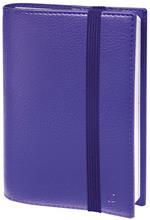 Agenda settimanale 2021, 13 mesi, Time&Life Quo Vadis Pocket Viola - con elastico e rubrica