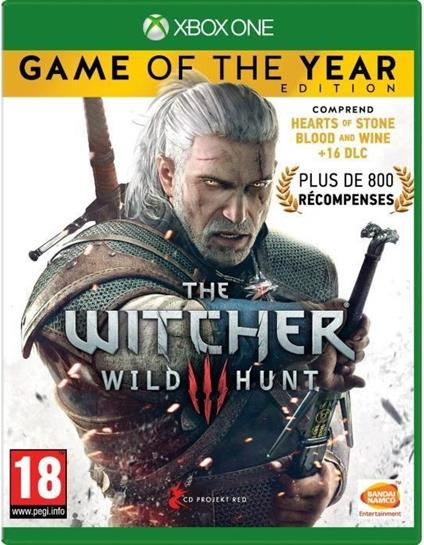 BANDAI NAMCO Entertainment The Witcher 3: Wild Hunt – Game of the Year Edition, Xbox One videogioco Inglese