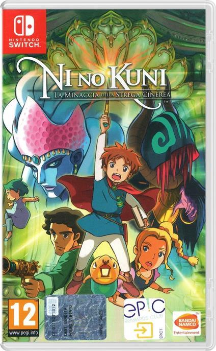 Ni No Kuni: La Minaccia della Strega Cinerea - Nintendo Switch