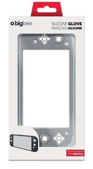 Bigben Interactive SWITCHGLOVE custodia per console portatile Cover Nintendo Nero Silicone
