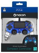 NACON Ctrl Wired Blu Luminoso PS4