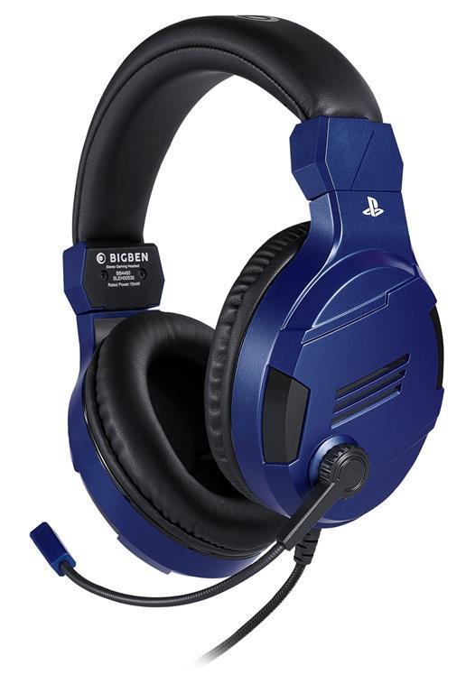 Bigben Interactive PS4OFHEADSETV3G Cuffia Padiglione auricolare Blu