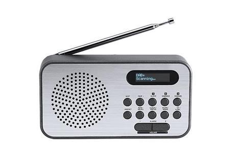 Thomson RT225DAB radio Personale Digitale Nero, Metallico