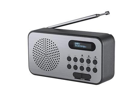 Thomson RT225DAB radio Personale Digitale Nero, Metallico - 2