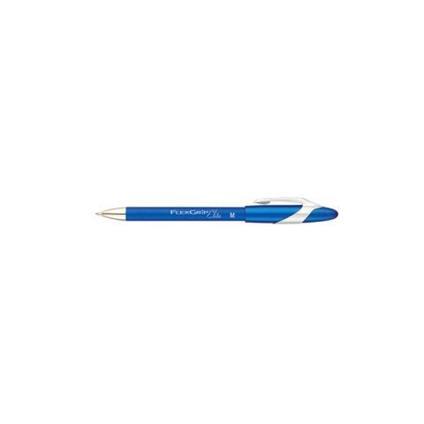 Papermate Ballpen PM Flexgrip Elite, Blue, 12 Blu Clip-on retractable ballpoint pen Vivido 12 pezzo(i)