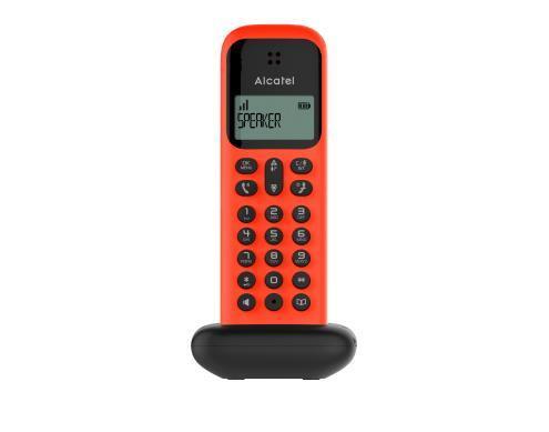 Alcatel D285 Telefono DECT Rosso