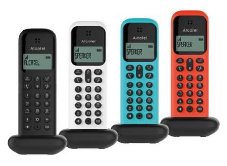 Alcatel D285 Telefono DECT Rosso - 2