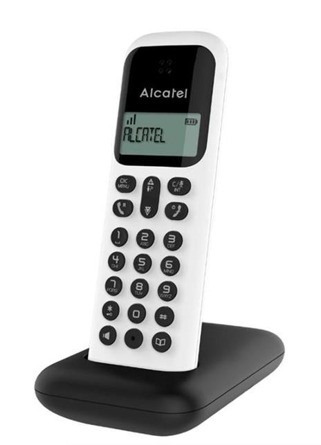 Alcatel D285 Telefono DECT Bianco Identificatore di chiamata
