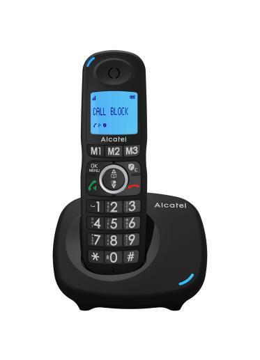 Alcatel XL535 DUO Nero Identificatore di chiamata