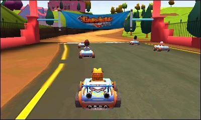 Garfield Kart - 3DS - 3