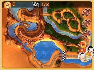 Garfield Kart - 3DS - 4