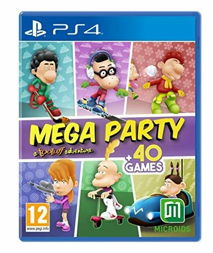 PlayStation 4 - Console Mega Party A Tootuff Adventure, Edizione Standard