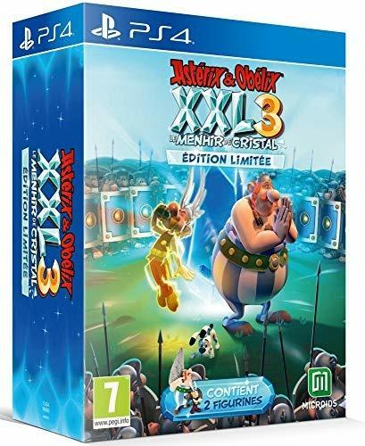 Astérix & Obélix XXL 3 : le Menhir de Cristal Edition Limitée pour PS4 [Edizione: Francia]