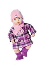 Zapf Creation Baby Annabell Deluxe Cappotto 43 cm, Multicolore, 702864, Colore Carbón