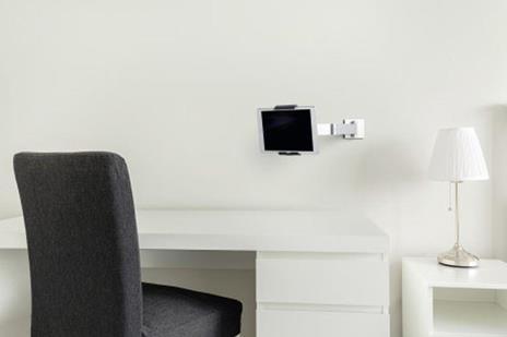 Durable 893423 supporto per personal communication Supporto attivo Tablet/UMPC Argento - 3