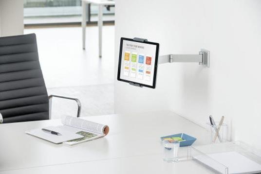 Durable 893423 supporto per personal communication Supporto attivo Tablet/UMPC Argento - 6