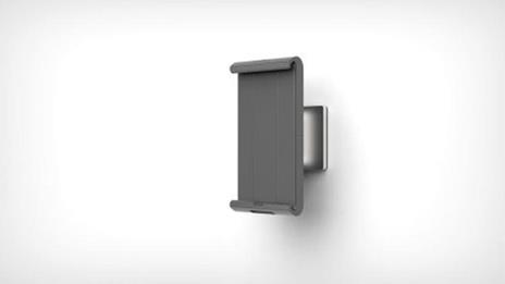 Durable 893423 supporto per personal communication Supporto attivo Tablet/UMPC Argento - 10