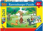 My First Puzzle 2X24 Pz. George. Ravensburger (5019)
