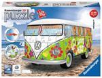Ravensburger 12532 - 3D Puzzle Serie Midi - Camper Volkswagen Hippie