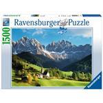 Veduta delle Dolomiti Puzzle 1500 pezzi Ravensburger (16269)