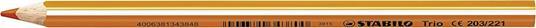 Pastelli STABILO Trio Thick. Confezione in cartone 18 matite colorate + temperino - 3
