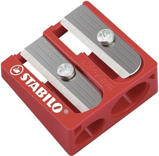 Pastelli STABILO Trio Thick. Confezione in cartone 18 matite colorate + temperino - 4