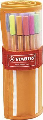 Penne STABILO point 88. Rollerset 30 colori - 3